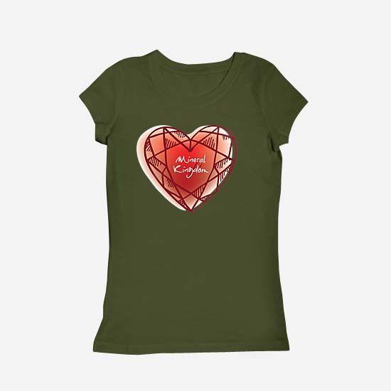 Love Mineral Kingdom - oleh Fncwellbeing T-Shirts for your wellbeing. #fncwellbeing #love #mineral #crystal #jewelry  fncwellbeing.com