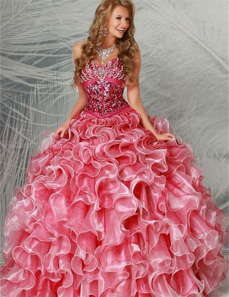 17 best Vestidos de XV images on Pinterest | Quinceanera dresses ...