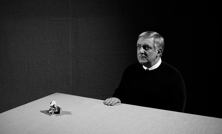 Simon Russell Beale by Nadav Kander for the NYTimes Magazine