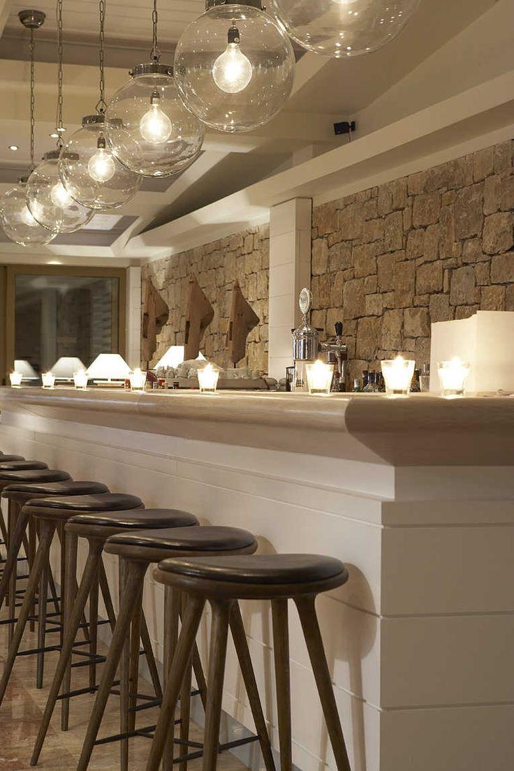 Sani Beach Club Lounge Bar. Location: Halkidiki, Greece