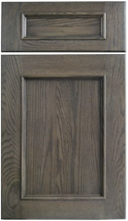 Dura supreme cabinetry 39 s marley cabinet door style shown for Best paint sheen for kitchen cabinets