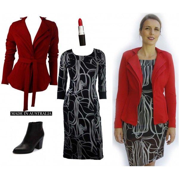Èrin Stretch Elegant Dress