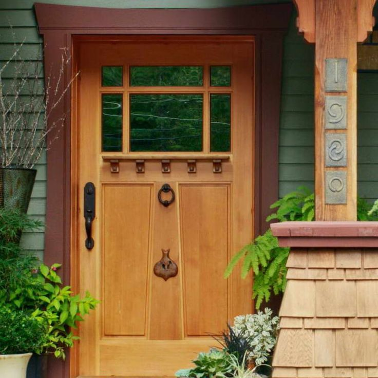 143 Best Painted Doors Images On Pinterest: 25+ Best Ideas About Craftsman Front Doors On Pinterest
