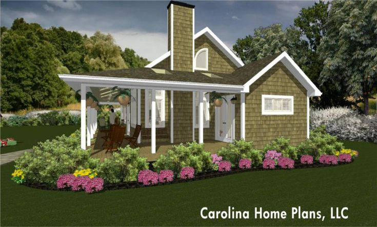Small house plan with wrap around porch extend your home for Small farmhouse with wrap around porch