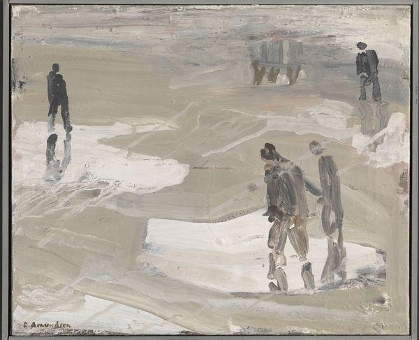 Eilif Amundsen — På stranden, 1976