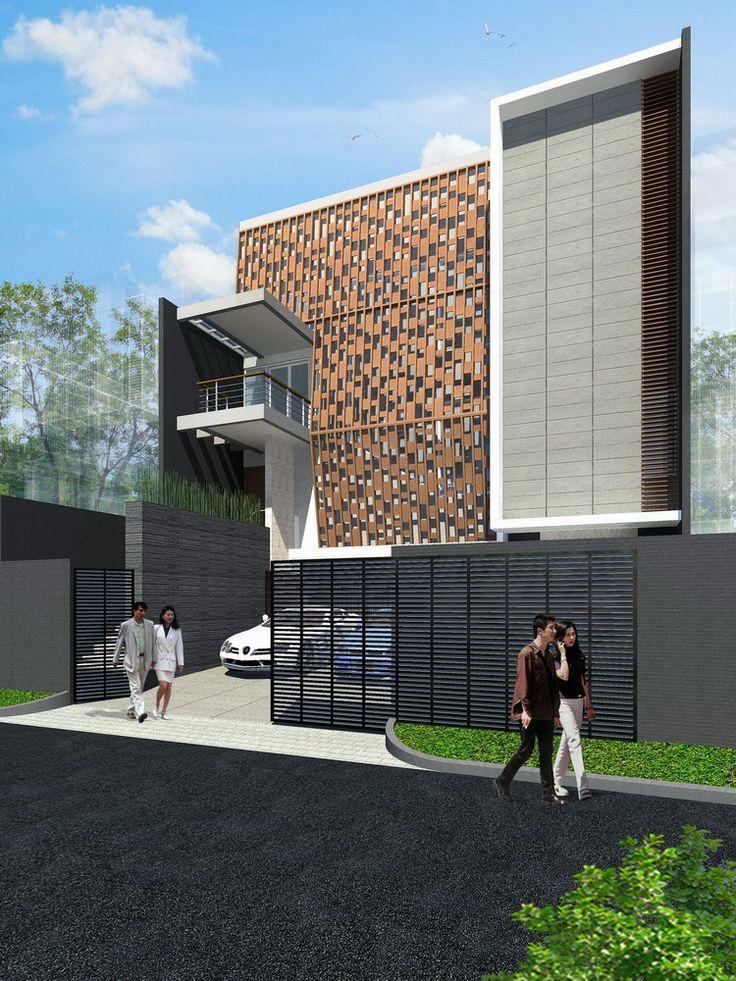 FACADE DRAWING. House 2House DesignFacadesMinimalTropicalHome ...