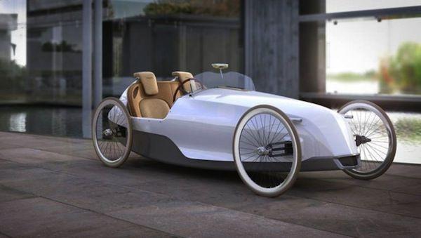 SC-1 Biposto – a two-seater designed velomobile   Impact Lab