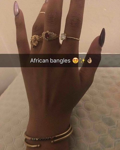African, bangles, and jewel image
