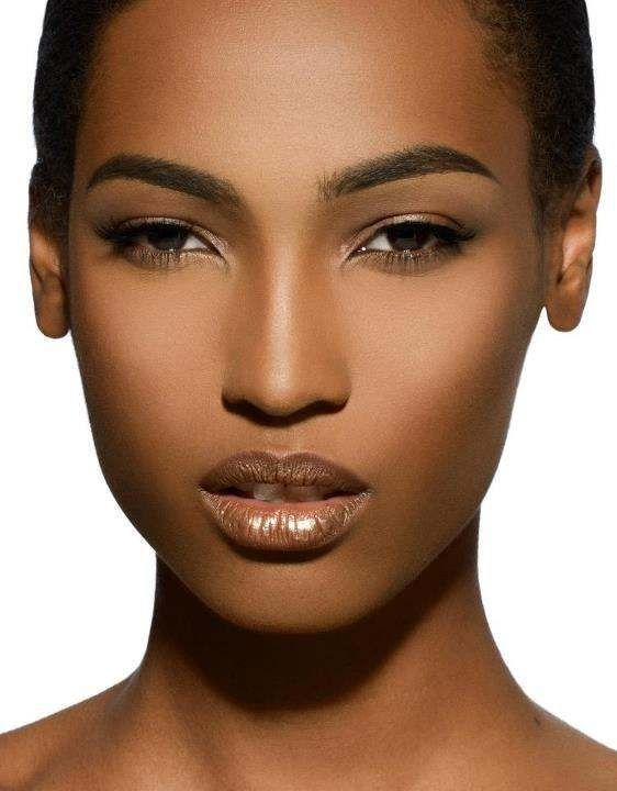 "pinner states ""PERFECT MAKE UP #AFRICAN AMERICAN WOMEN.......CHECK OUT MORE ON DAILY BLACK BEAUTY EXCLUSIVES ON FACEBOOK!!!"""