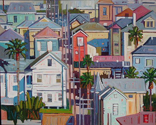 Galveston Homes Tour Painting