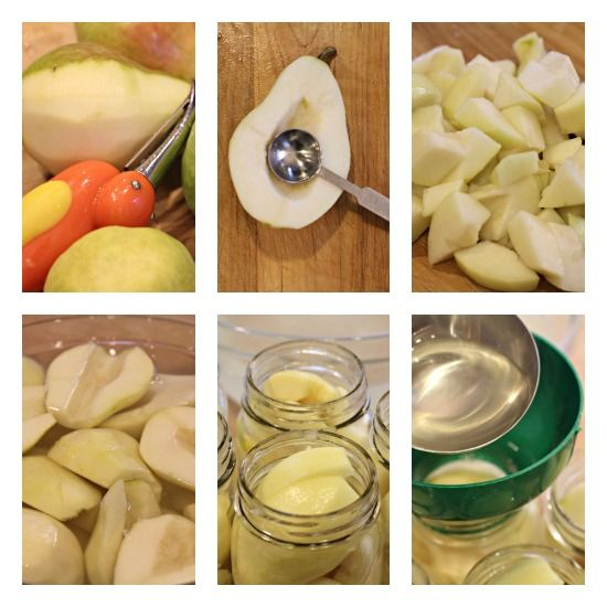 How to can pears. I have a pear tree and they never seem to get ripe. Hopefully canning softens them up.