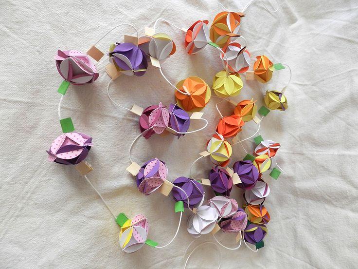 Dekoratiuni: Beteală origami