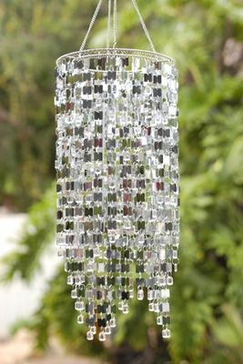 <3 this surprising wind chime... brings new meaning to bringing the indoors out!!