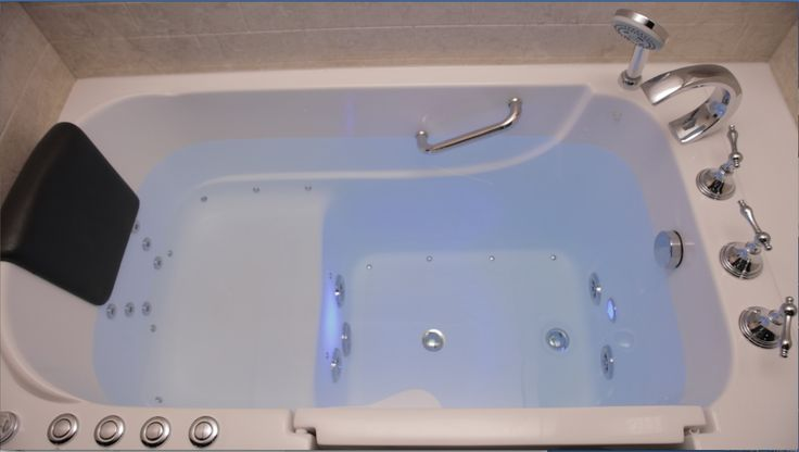 1000 ideas about walk in tubs on pinterest walk in bath for Big and tall walk in tubs
