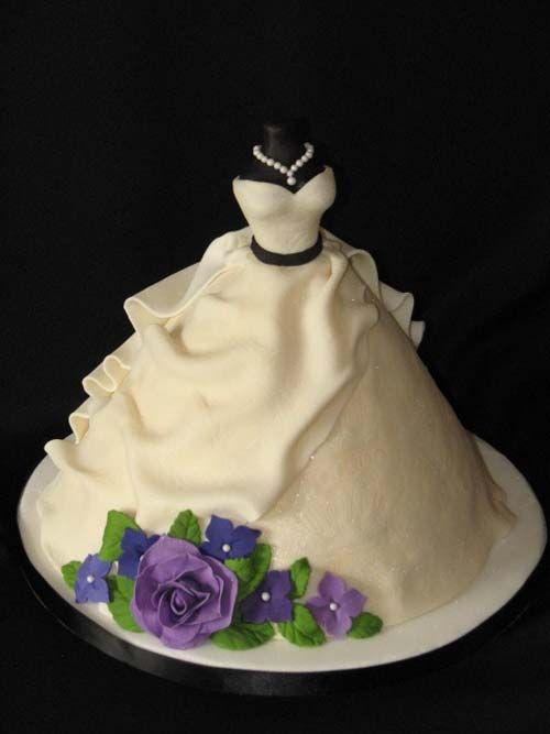 Simple Wedding Dress Accessories : Best images about cakes too neat to eat dresses on