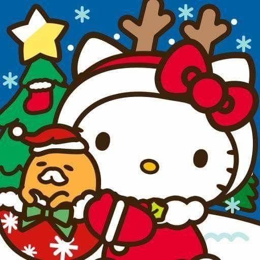 Hello Kitty Merry Christmas.Gudetama Et Kitty Merry Christmas Ps W Ps Hello Kitty