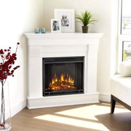 Best 25 Corner Electric Fireplace Ideas On Pinterest Corner Fireplace Mantels Corner