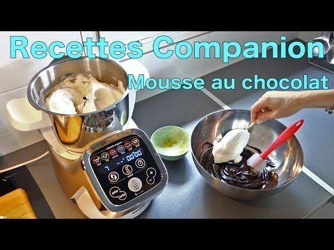 Recettes Companion - Mousse au chocolat - YouTube