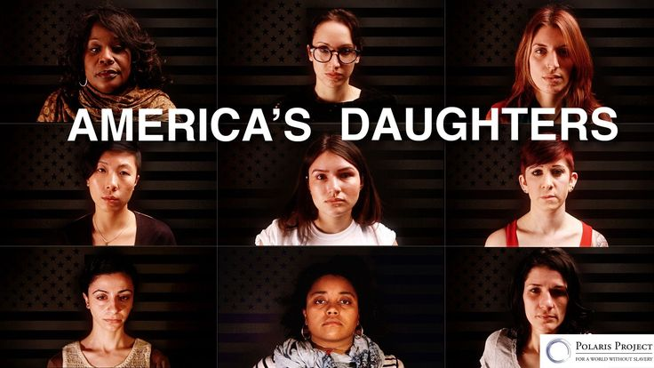 Join survivors in the fight to end human trafficking. Go to www.polarisproject.org/americasdaughters.