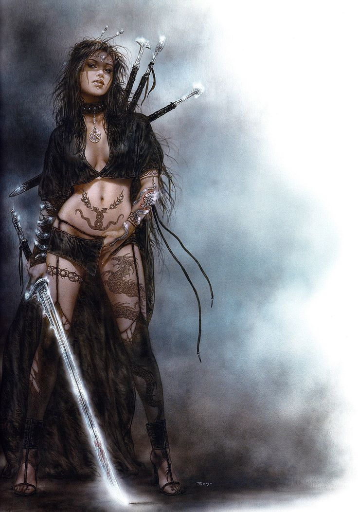 Luis Royo - Classic female warrior
