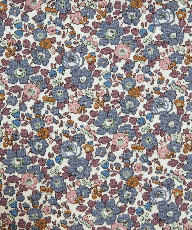 Betsy Ann B Lantana | Fabric by Liberty Art Fabrics