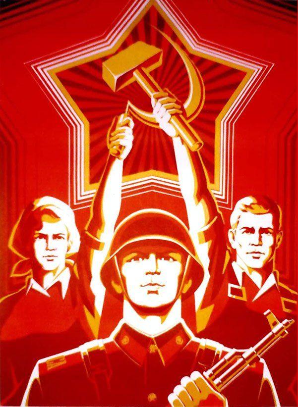 russian 3 - World War Two Propaganda Posters