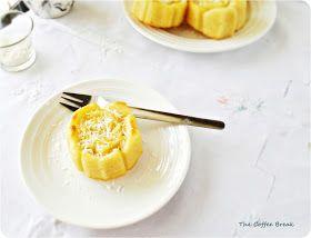 The Coffee Break: Lemon and Coconut Mini Cakes