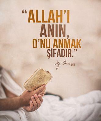 Allahi anmak sifadir..