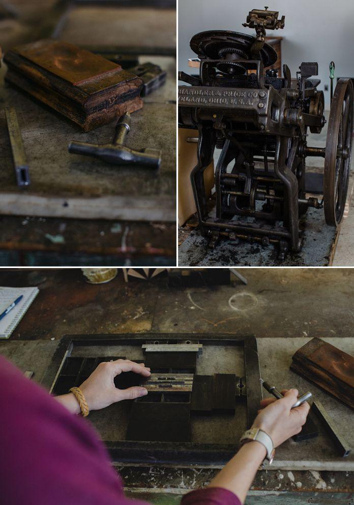 A couple pics of my letterpress shop!