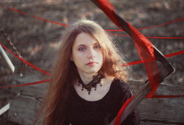 32/52 Sad death by Kva-Kva.deviantart.com on @DeviantArt