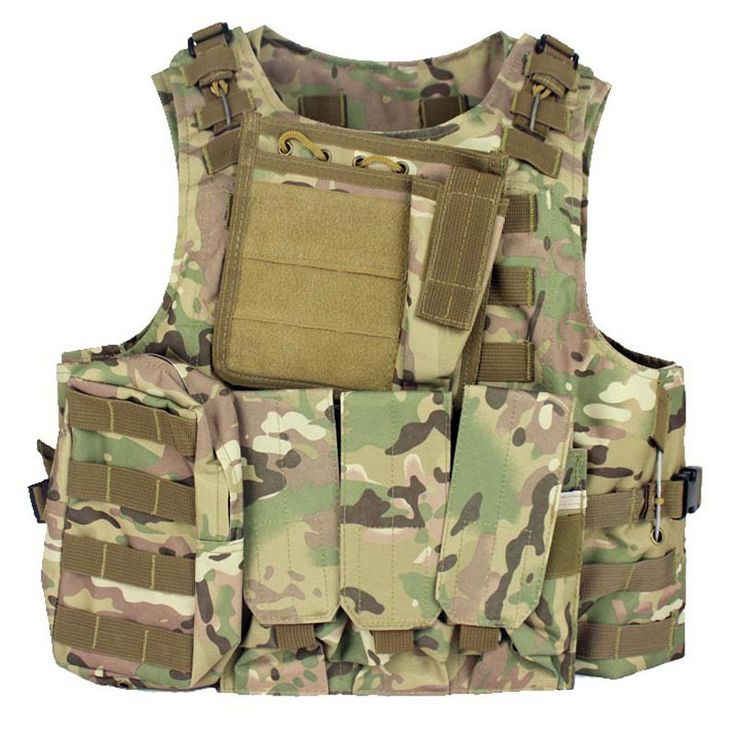 Military Body Armor Plate Carrier Tactical Vest Airsoft Gear Molle Mag Ammo Chest Rig Paintball Army Harness //Price: $93.99 & FREE Shipping //     #tacticalgear #survivalgear #tactical #survival #edc #everydaycarry #tacticool
