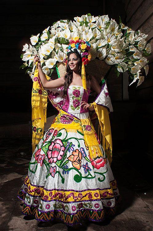 """folklor mexicano   El vestido """"Folklor Mexicano"""" es la segunda propuesta a presentar en ..."""