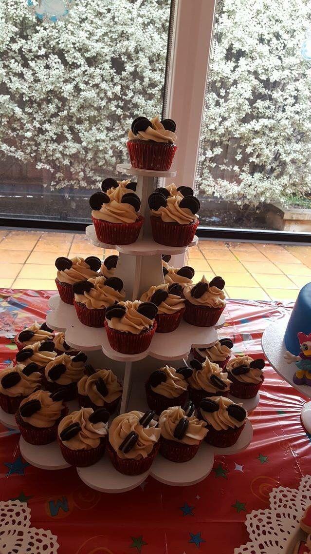 Mickey Mouse mini cupcakes