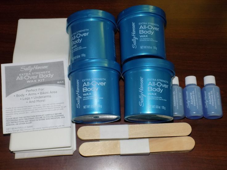 Waxing Supplies: Sally Hansen Extra Strength All-Over Body Wax Kit Misc Lot Pieces New Free Ship! -> BUY IT NOW ONLY: $35.99 on eBay!