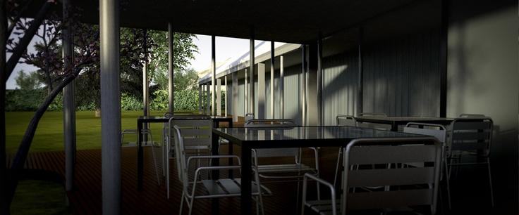 terraza deck Acuavita #cinemarquitectura