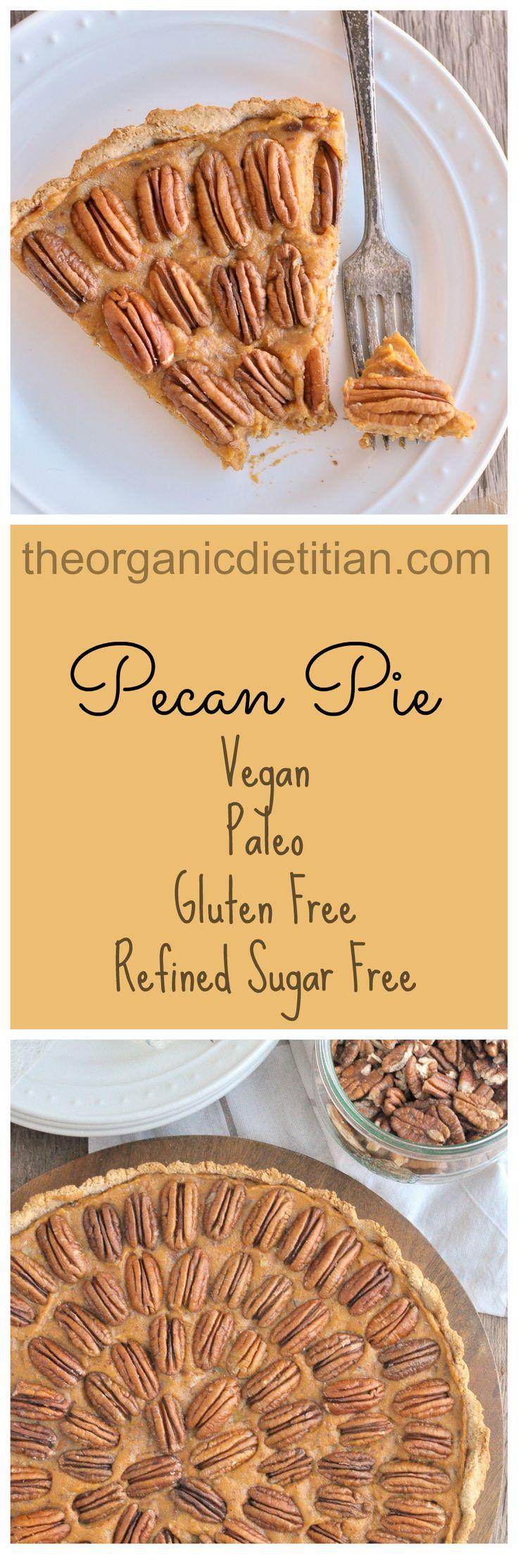 Clean Pecan Pie (#vegan #paleo #glutenfree, refined sugar free).jgp