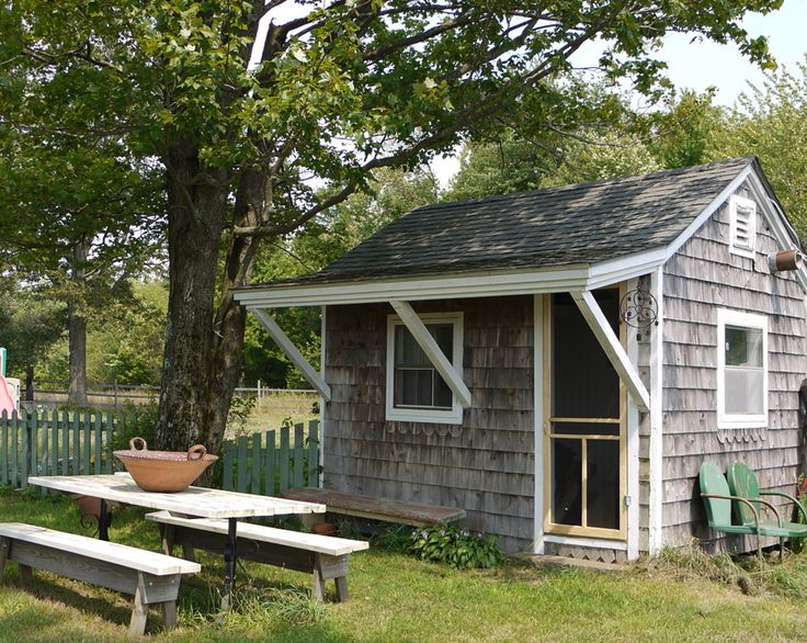 Garden shed guest house tiny house swoon guest houses for Shed guest house kit