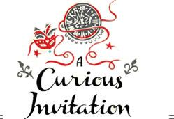 A curious invitation logo