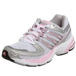 adidas Women\u0027s Response CSH 17 Running Shoe,White/Silver/Diva,8.5 M