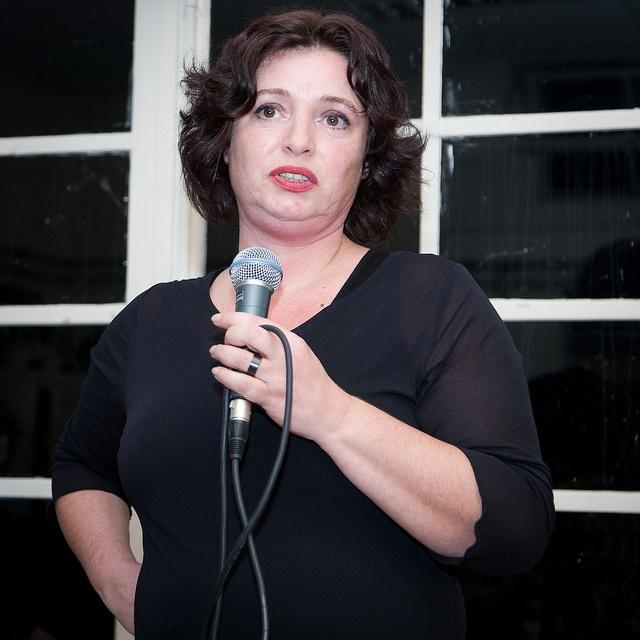 Patricia Mazarakis aan het woord