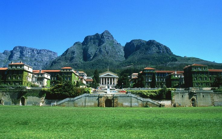 University of Cape Town, South Africa - happy memories..