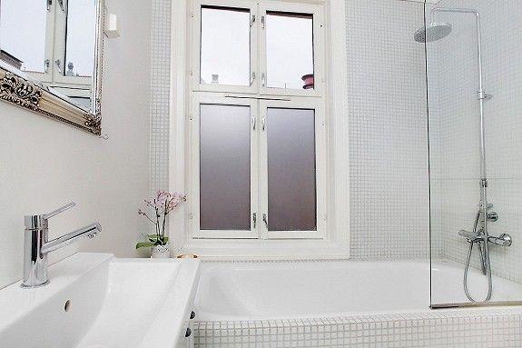 Bad med lite badekar