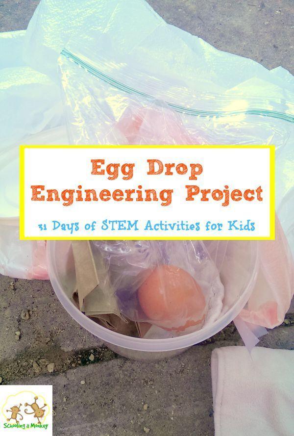 Best 25 Egg Drop Project Ideas On Pinterest Egg Drop
