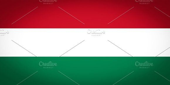 Flag of Hungary. Europe #flags