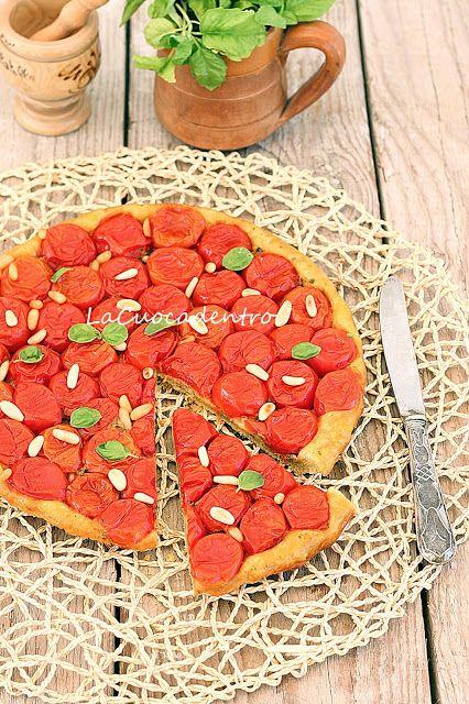 La Cuoca Dentro: Tarte Tatin di pomodoro e pesto