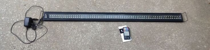 CURRENT USA SATELLITE LED FRESHWATER AQUARIUM LIGHT W/CONTROL 48 INCH #CURRENTUSA