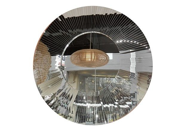 HELIOS ROUND MIRROR II FUDA MIRRORS #exhibitinteriors #greece #italy #mirror #moderninteriors#lifeinstyle