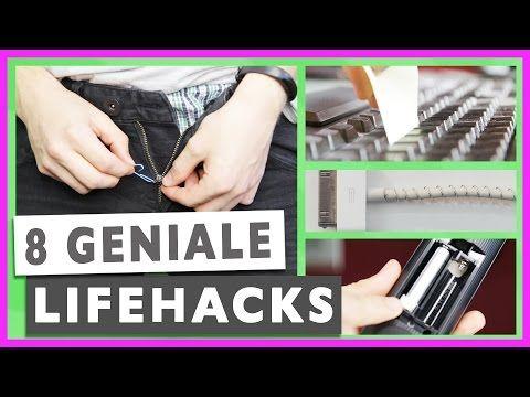 8 GENIALE LIFE HACKS deutsch Lifehacks für den Alltag - Tricks Gadgets deutsch | Prowl3r I YouTube