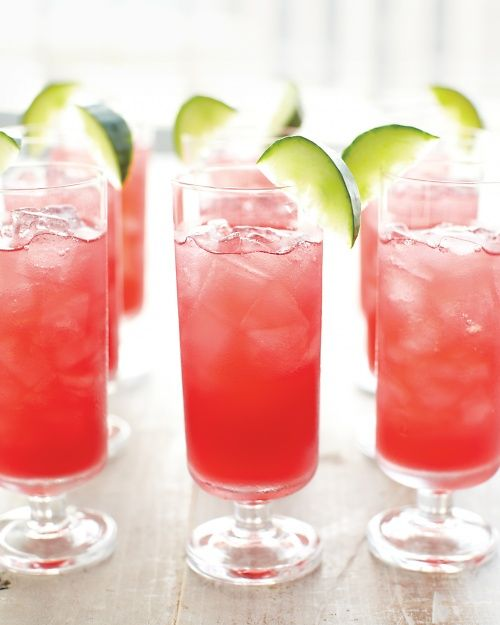 Cucumber Cape Codder - Martha Stewart Recipes: Marthastewart, Cranberries Juice, No Sugar, Limes Juice, Recipes, Martha Stewart, Cucumber Capes, Cocktails, Capes Codder
