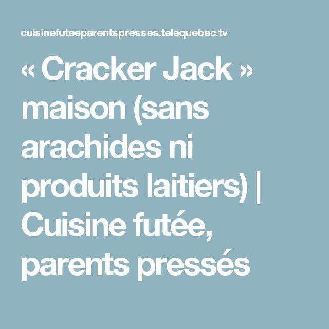 « Cracker Jack » maison (sans arachides ni produits laitiers) | Cuisine futée, parents pressés